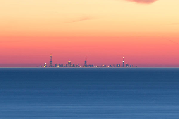 Chicago from Michigan