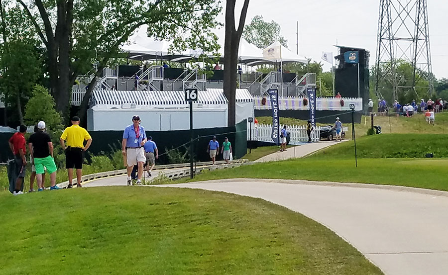 Al look behind the scenes at the Senior PGA Championship presented by KitchenAid