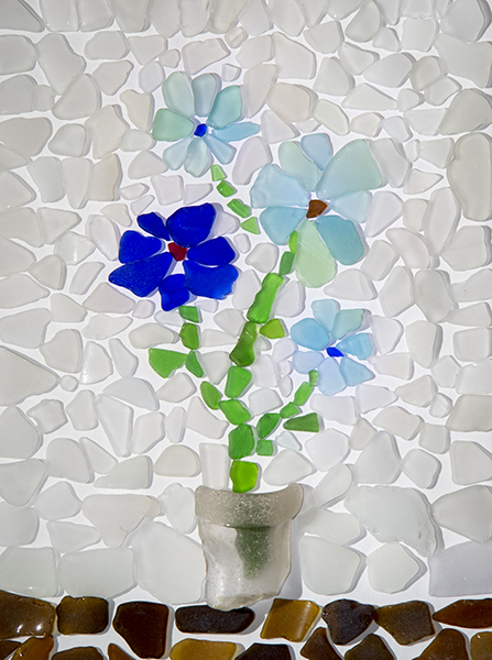 Beach Glass Craft