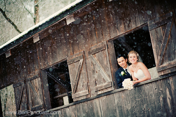 Bridge Winter Wedding 5