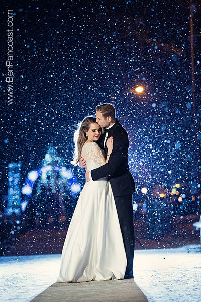 Winter Wedding Snow Flakes 2