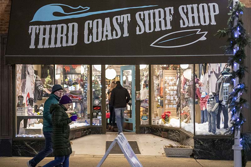 Third Coast Surf Shop in St. Joseph, MI