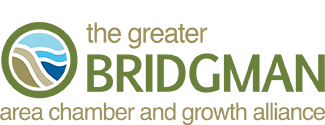 Greater Bridgman Area Chamber of Commerce and Growth Alliance Logo