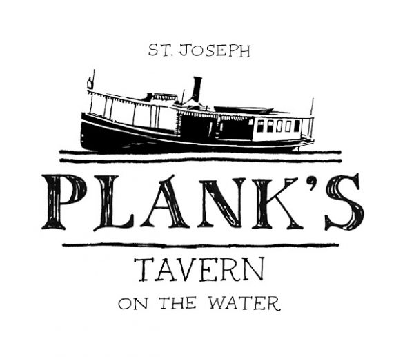 Plank's Tavern on the Water Logo