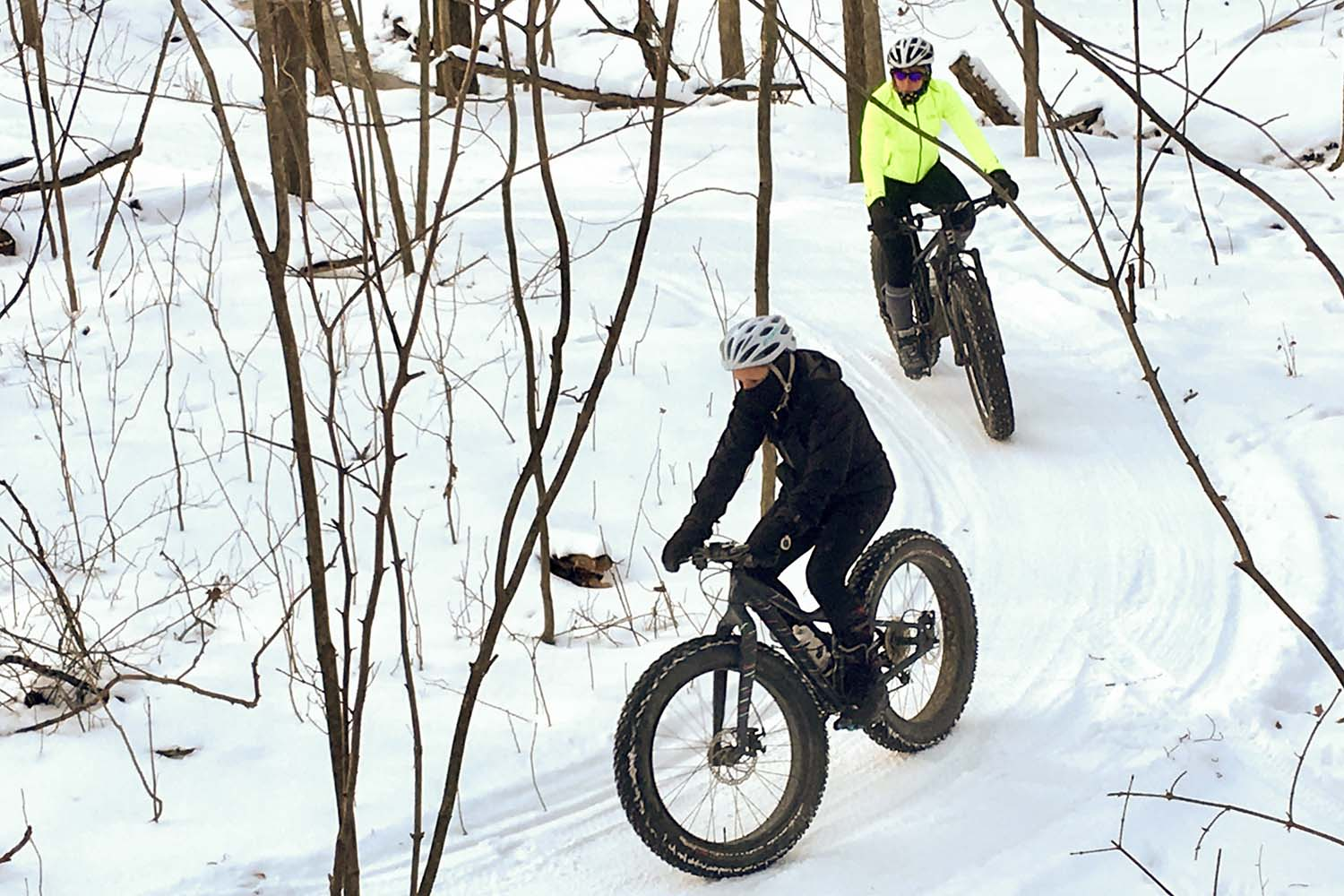 Fat Tire Bikes Winter