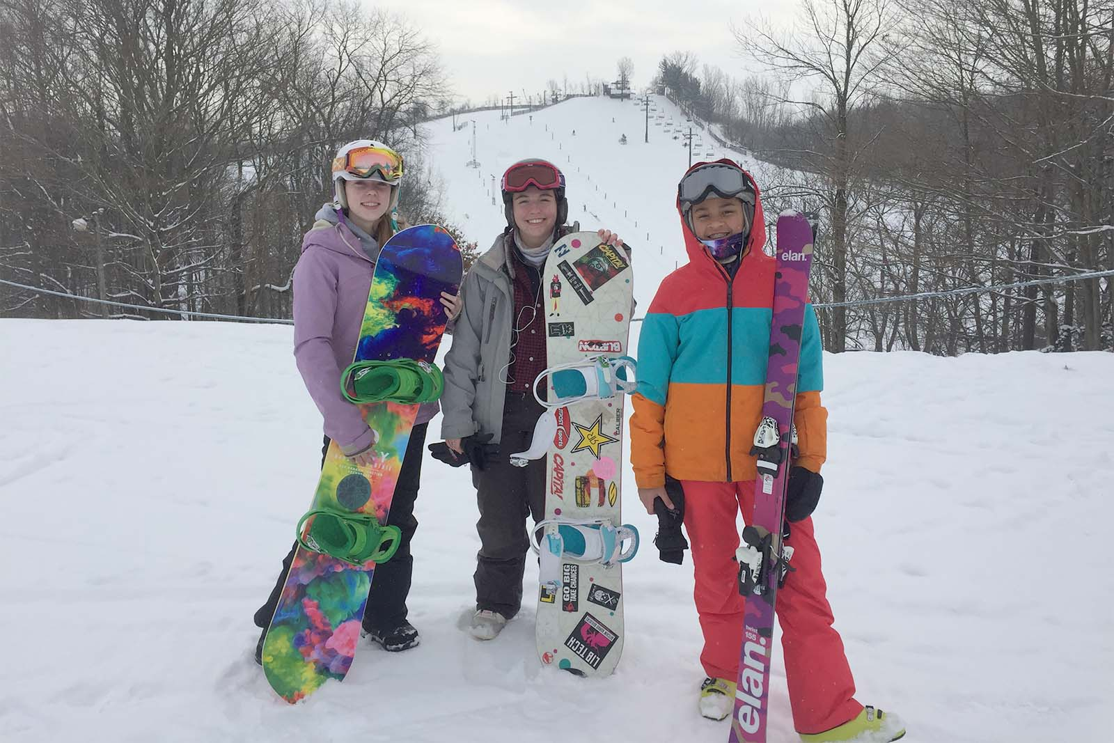 Girls Board Ski Alaila Molly Liv