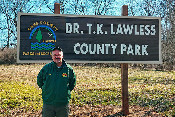 Scott Wyman at Dr. TK Lawless County Park