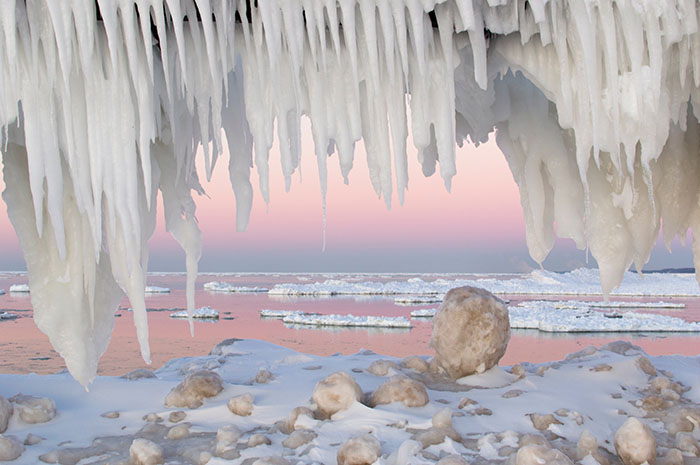 Lake Michigan Winter
