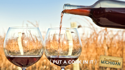 Put A Cork In It - Wine & Glasses